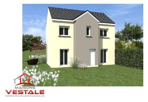 Maison  6 pièces + Terrain 661 m² Vaux-le-Pénil par MAISONS VESTALE IDF