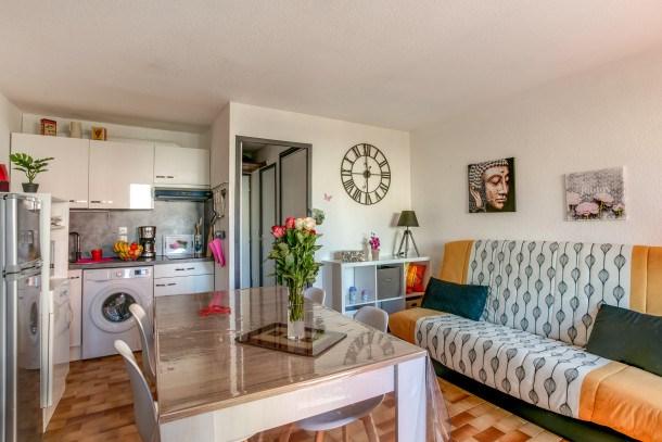 Location vacances Agde -  Appartement - 3 personnes - Télévision - Photo N° 1