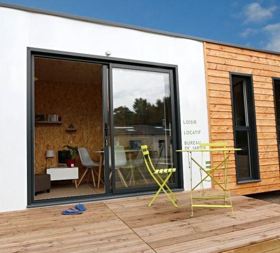 """Modèle de maison  """"Studio de jardin natura"""" à partir de 1 pièces Oise par ACROTERRE"""