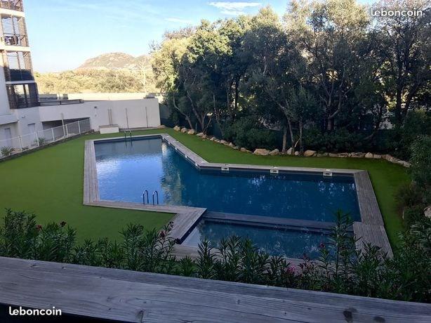 Location Studio avec piscine port de Porto-Vecchio pour 2 personnes