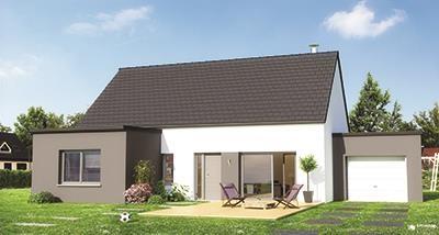 Maison  4 pièces + Terrain 480 m² Houplines par Maison Familiale - Lille