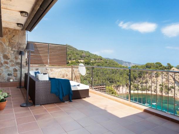 Location vacances Tossa de Mar -  Appartement - 5 personnes - Barbecue - Photo N° 1