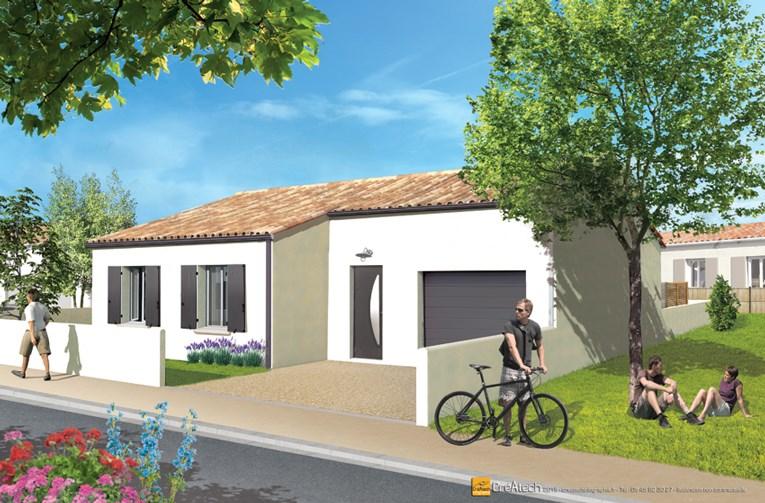 Maison  4 pièces + Terrain 403 m² Saint-Sauveur-d'Aunis par MAISONS ACCO