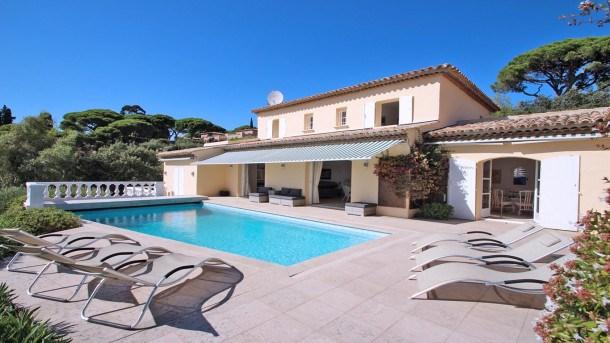 Location vacances Sainte-Maxime -  Maison - 10 personnes - Télévision - Photo N° 1