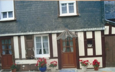 Location vacances Honfleur -  Gite - 4 personnes - Salon de jardin - Photo N° 1