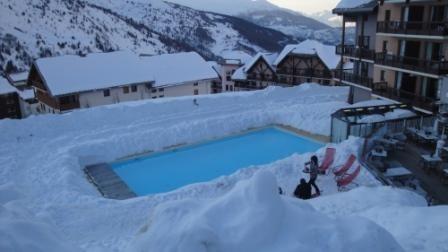 Appartement pour 7 pers. avec piscine, Valmeinier