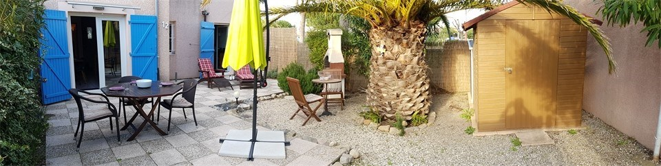 GRUISSAN : 3-rooms Villa for 6 people max.