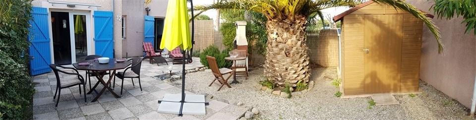 Location vacances Gruissan -  Appartement - 6 personnes - Lave-linge - Photo N° 1