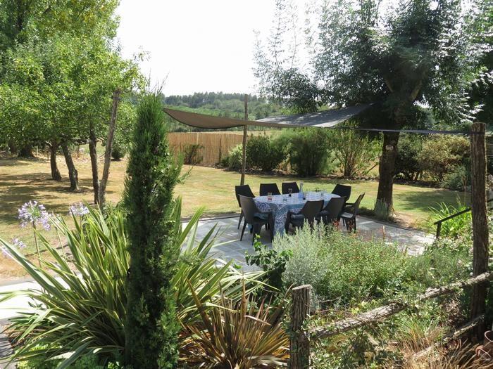 Jardin privatif et sa terrasse aménagée