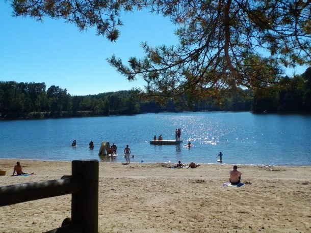 Camping du Lac - Mini-chalet sans sanitaires Anaïs
