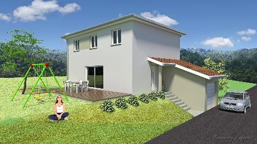 Maison  5 pièces + Terrain 560 m² Saint-Maurice-sur-Dargoire par BV AMENAGEMENT