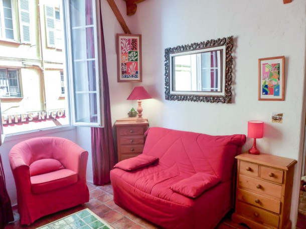 Location vacances Nice -  Appartement - 3 personnes -  - Photo N° 1