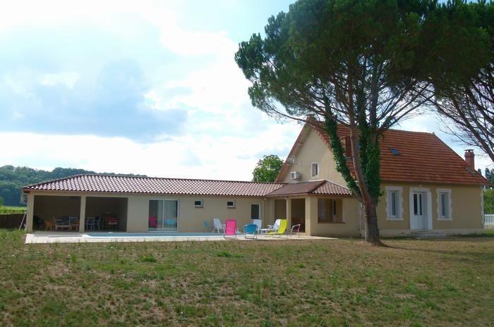 pour 8 pers. avec piscine privée, Vire-sur-Lot