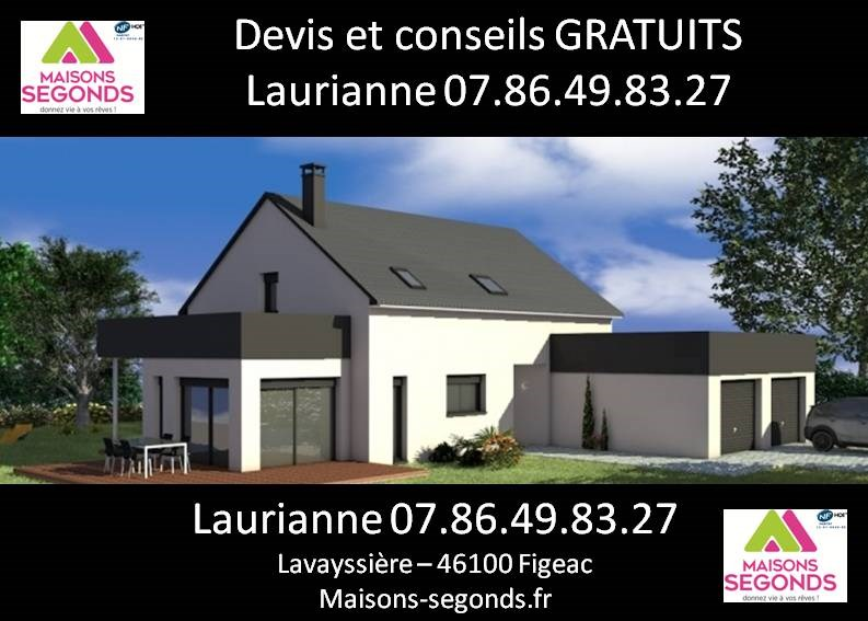 Maison  5 pièces + Terrain 1891 m² Felzins par MAISONS SEGONDS