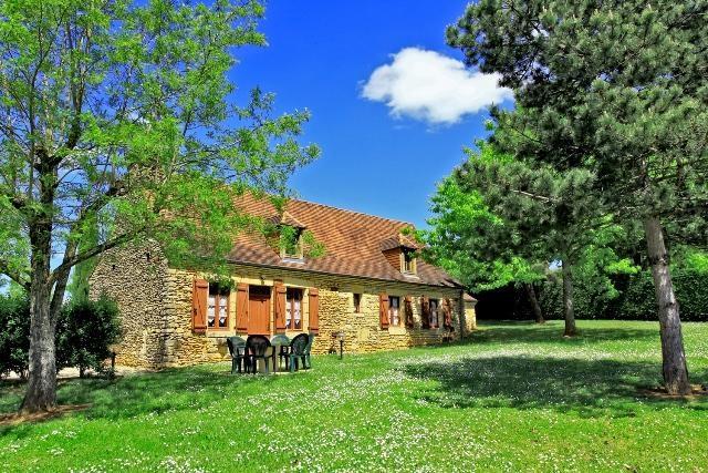 Location vacances Saint-Crépin-et-Carlucet -  Maison - 5 personnes - Barbecue - Photo N° 1