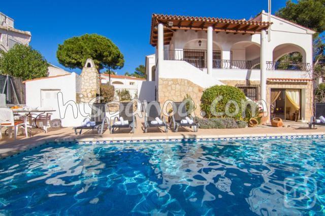 Location à Calpe de cette agréable villa avec piscine privée |dasara
