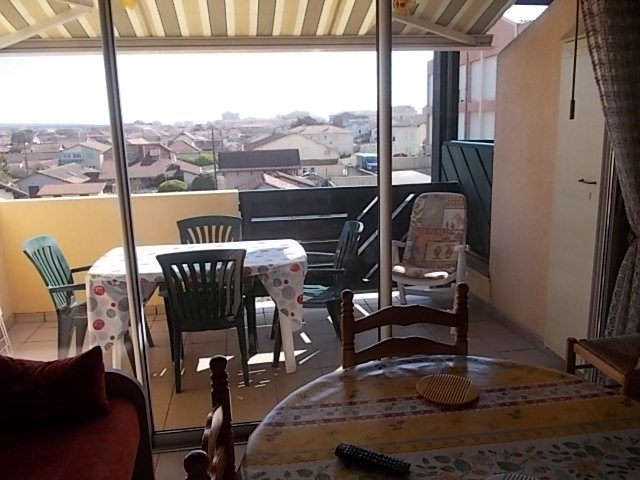 Location vacances Mimizan -  Appartement - 4 personnes - Salon de jardin - Photo N° 1