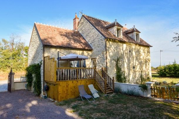 Location vacances Charenton-du-Cher -  Maison - 4 personnes - Barbecue - Photo N° 1