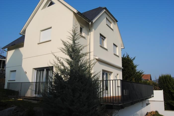 maison, terrasse