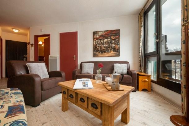 Location vacances Chamonix-Mont-Blanc -  Appartement - 5 personnes - Barbecue - Photo N° 1