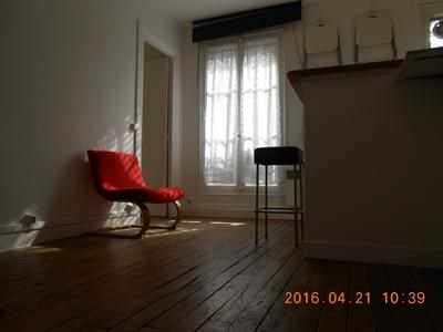 T2, meublé, 1er étage, cour arborée, cuisine équipée - Paris 18ème (75018)-7