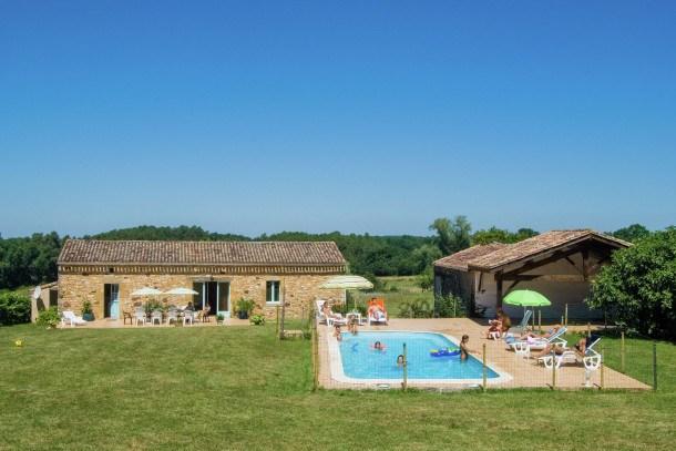 Location vacances Biron -  Maison - 6 personnes - Barbecue - Photo N° 1