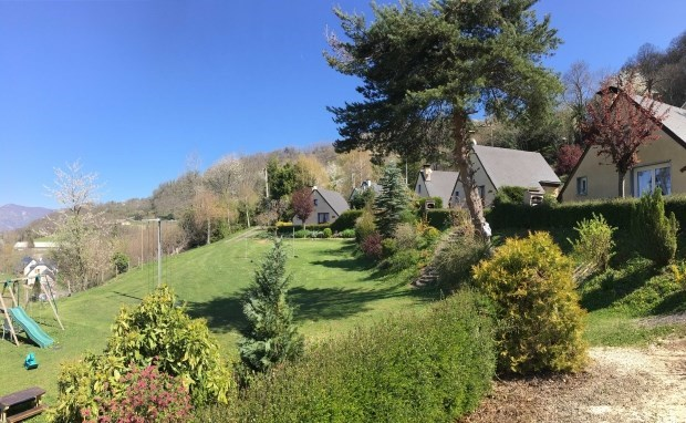 Quartier von Stouet in den Hautes-Pyrénées - Argelès Gazost