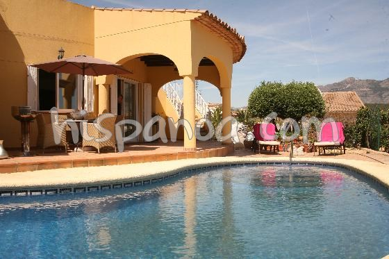 Holiday rentals la Nucia - House - 6 persons - BBQ - Photo N° 1