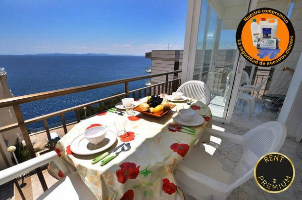 Location vacances Rosas -  Appartement - 8 personnes - Barbecue - Photo N° 1