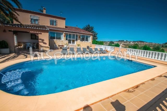 Location vacances Benissa -  Maison - 10 personnes - Barbecue - Photo N° 1