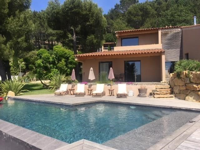 SPLENDID ARCHITECT VILLA PANORAMIC AND SEA VIEW WITH HEATED POOL  / 10 PEOPLE