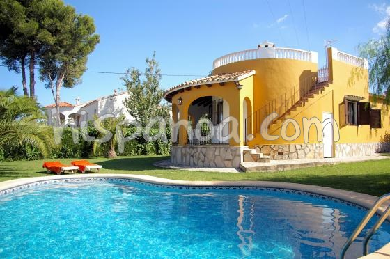 Holiday rentals Dénia - House - 6 persons - BBQ - Photo N° 1