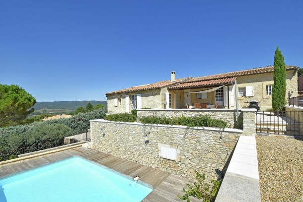 Top Villa 4 suites stunning view and walking distance village