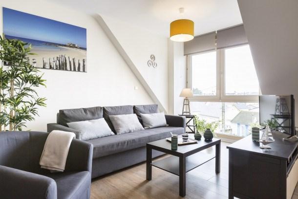 Location vacances Saint-Malo -  Appartement - 4 personnes - Télévision - Photo N° 1