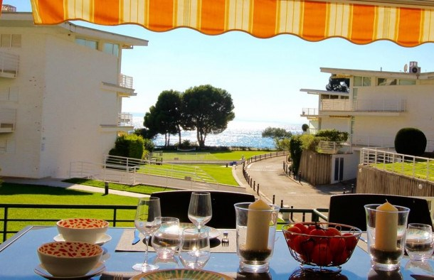 Location vacances Rosas -  Appartement - 4 personnes - Salon de jardin - Photo N° 1