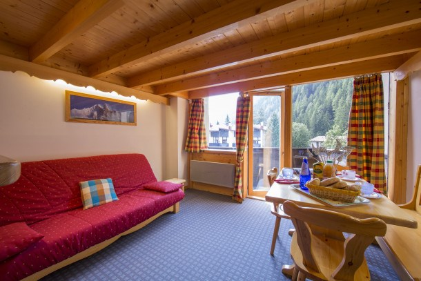 Location vacances Chamonix-Mont-Blanc -  Appartement - 6 personnes - Barbecue - Photo N° 1