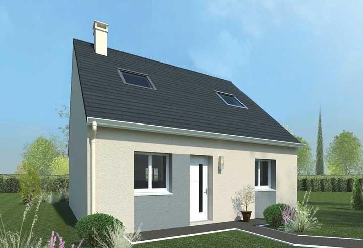 Vente maison 4 pi ces faremoutiers maison projet de for Vente projet de construction