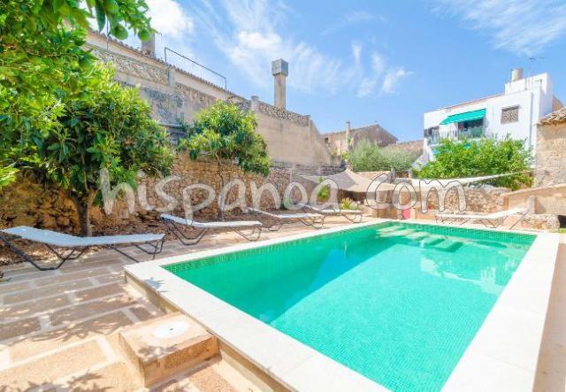 A louer à Majorque villa de 8 pers  avec piscine privée et climatisation |canromag