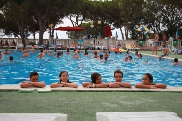 Location vacances Calella -  Maison - 4 personnes - Court de tennis - Photo N° 1