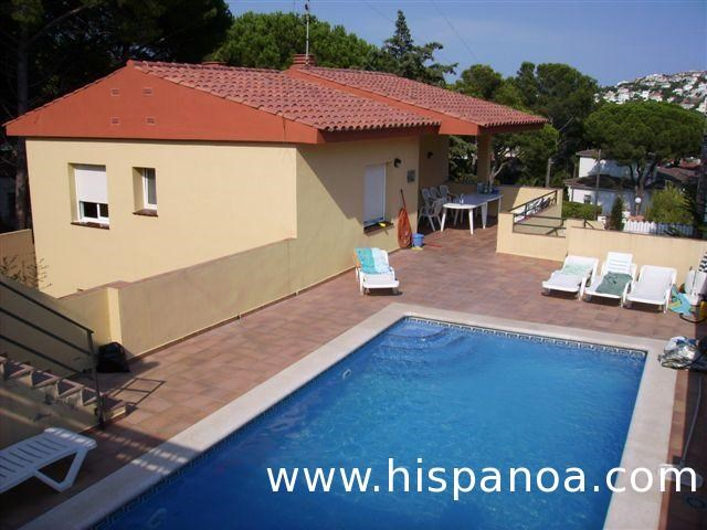 House for 8 ppl. with pool, l'Escala