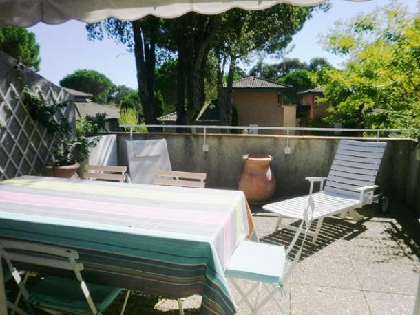 Appartement 3 pièces en duplex avec solarium et piscine