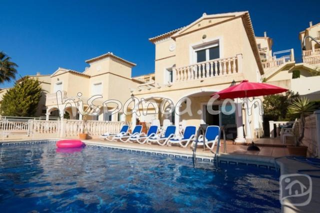House for 8 ppl. with pool, Calp