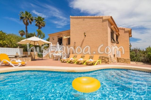 Holiday rentals Calp - House - 9 persons - BBQ - Photo N° 1