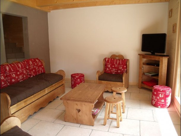 Location vacances Le Grand-Bornand -  Appartement - 8 personnes - Salon de jardin - Photo N° 1