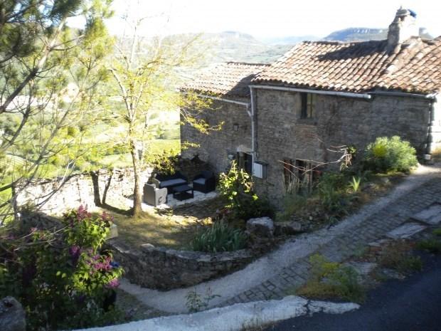 Gite pour 6 personnes  vue sur le viaduc de  Millau, dans un hameau du 11è siècle - Saint-Georges-de-Luzençon