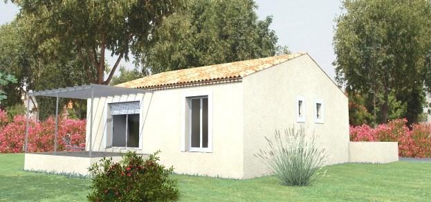 Maison  3 pièces + Terrain 880 m² Saint-Geniès-de-Malgoirès par MAISONS VERTES DU GARD