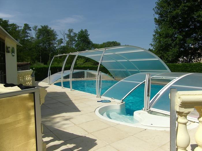 Maisonnette pour 4 pers. avec piscine privée, Saint-Alban-Auriolles