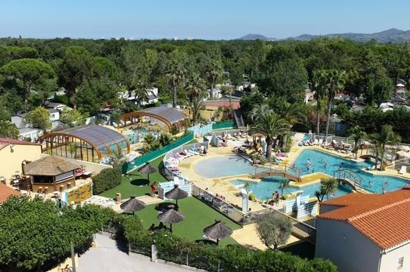 Camping Etoile d'Or, 85 emplacements, 200 locatifs