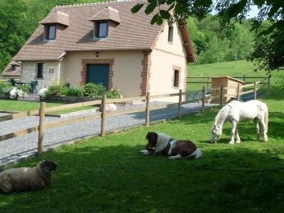 Holiday rentals Ablon - Cottage - 5 persons - BBQ - Photo N° 1
