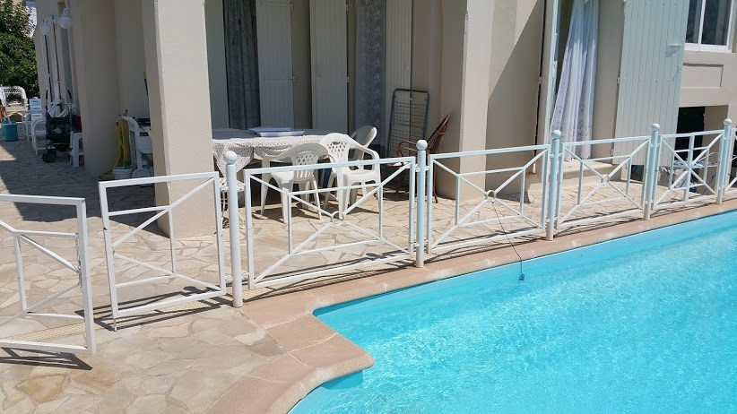Bel appartement au rez de chaussée de Villa dans quartier résidentiel proximité plages